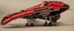 """T-06 """"Droopy Dragon"""" Transport Helicraft (Greeble_Scum) Tags: ship lego scifi shiptember"""