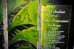 2013 10 06 - 0461 - DC - Graffiti (thisisbossi) Tags: usa streetart green washingtondc dc nw unitedstates northwest murals midcity joelbergner afrocolumbianmural