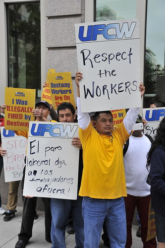 Govt Shutdown Shuts Out Striking Bestway Workers, From FlickrPhotos