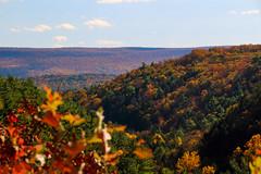 Delaware Valley Lookout (chichi2130) Tags: autumn automne landscape pennsylvania herbst otoño autunno höst syksy podzim jesień осень bushkill høsten bushkillfalls jeseň delawarevalley