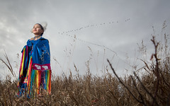 The Pride of a Nation (davebrosha) Tags: portrait canada girl butterfly model native environmental dancer canadian alberta aboriginal powwow grandeprairie modelreleased davebroshaphotography