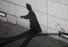 the puppet (dacian dorca-street photographie) Tags: shadow people man lines dark samsung