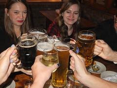 beers on beers (petit hiboux) Tags: friends beer coworkers charityslaststand