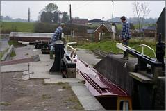 Gallivanting with Gotrik [28] (opobs) Tags: family boy holiday canal october lock 1993 llangollencanal narrowboat grindleybrook gotrik