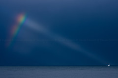 Hope (Davide Esposito1) Tags: light sea ferry island capri rainbow mare ship nave napoli naples arcobaleno luce isola vision:outdoor=099 vision:clouds=0713 vision:sky=0952