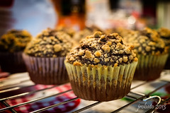 Home-Baked Reese's Cupcakes (orgazmo) Tags: food cupcakes dof bokeh sony closeups pastries reeses foodphotography rx1r