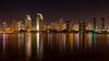 San Diego (mojo2u) Tags: california city skyline night lights bay harbor sandiego sandiegoskyline nikon2470mm nikond800