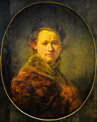 Rembrandt van Rijn - Self Portrait, 1650 at Staatliche Kunsthalle Karlsruhe Germany (mbell1975) Tags: portrait art dutch museum self germany painting deutschland golden gallery grand musee age museo masters van karlsruhe rembrandt rijn kunsthalle finearts beauxarts badenwurttemberg gallerie 1650 staatliche