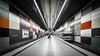 Georg-Brauchle-Ring - U-Bahnstation (Robert Mehlan - Munich) Tags: architecture germany munich münchen bayern ubahn architektur gebäude bahnsteig georgbrauchlering canon5dmkii tse17mmf4l robertmehlan