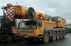 LIEBHERR - AINSCOUGH Crane Hire (scotrailm 63A) Tags: cranes lorries