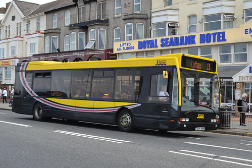 Blackpool Transport Optare 224.T934EAN - Blackpool