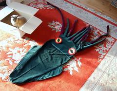 DSC_0127-1 (Chaumurky) Tags: cat chat box sewing pillow squid cushion taichi giantsquid