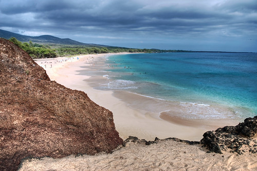 Big Beach (Oneloa,Makena), Maui, Hawaii, USA HDR