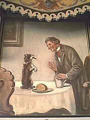 Watch a Dog Be Given Cigars (outlier.babe) Tags: dog carson carousel cigar smoking oddities kit merrygoround kitcarson