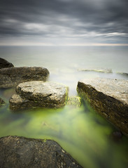 Green (- David Olsson -) Tags: longexposure morning summer seascape david seaweed green nature water june juni clouds landscape early nikon rocks cloudy sweden outdoor stones balticsea le slime gotland grad vr fårö östersjön d800 1635 ndfilter blackglass 1635mm gnd smoothwater 2013 ryssnäs sjögräs leefilters sevärdhet ryssudden lenr utflyktsmål bigstopper davidolsson 06hard 1635vr