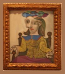 Pablo Picasso (1881-1973) Der gelbe Pullover/Le chandail jaune, 1939, Öl auf Leinwand (Sergei P. Zubkov) Tags: berlin art museum painting kunst canvas oil april auf öl malerei leinwand 2011 berggruen