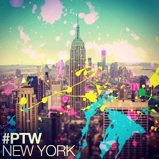 #PaintTheWorld New York