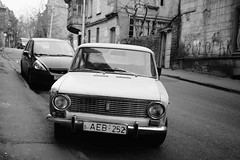 DSCF9478_S (Konrad Lembcke) Tags: world life road street door old trip travel red people bw white black art beer car cat fix way georgia advertising lens photography mercedes alley fuji ad documentary journey chrsitmas use rubbish local re sreet fujinon tbilisi      x100s