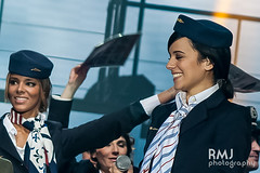 Flight attendant Alizée