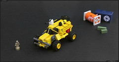 TRACER L.A.V. (Pierre E Fieschi) Tags: light art lego pierre rover assault micro scifi vehicle concept homeworld microspace fieschi shipbreakers microscale