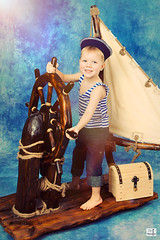 ... (MissSmile) Tags: trip boy studio kid child joy memories adorable traveller delight sailor props chidhood misssmile