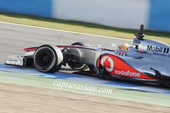 McLaren Mercedes MP4-27 - Lewis Hamilton - Entrenamientos Jerez (www.capturaviaje.com) Tags: españa david canon mercedes andalucía hamilton lewis f1 mclaren fone cádiz formula1 franco jerez grimaldi 70300 barrido 550d paneo espaã±a cã¡diz andalucãa mp427 dgrimaldi wwwcapturaviajecom capturaviaje