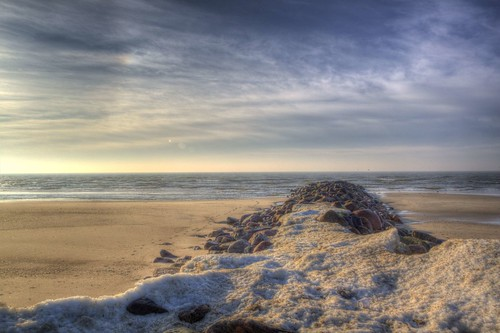 Frosty North Sea