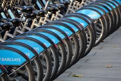 Bikes (@lattefarsan) Tags: london nikon bikes row