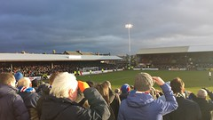Grey Clouds over Somerset Park February 2014 (tcbuzz) Tags: park club scotland football united somerset ayr rangers