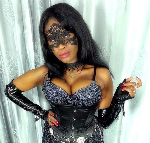 Queen Sabine Mondestin Masked Heroine