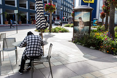 Plaid and Stripes (boingyman.) Tags: street san jose 2014 boingyman