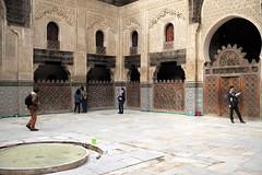 L1000616 (H Sinica) Tags: morocco 摩洛哥 fez fes 非斯 medina medersa bouinania