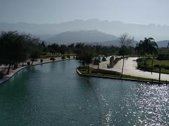River Walk Mountains (itchypaws) Tags: 2017 north america monterrey nuevoleón mexico mx santa lucía riverwalk paseo saint lucia mountains sierra canal
