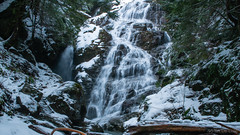 DSC_0010 (Adrian De Lisle) Tags: britishcolumbia canada kennedyfalls lynnvalley northshore pnw pacificnorthwest snow vancouver waterfall winter northvancouver ca