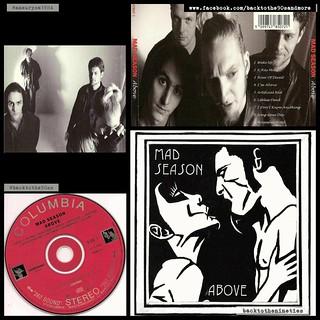 #HappyAnniversary 22 years #MadSeason #Above #album #grunge #alternative #rock #music #90s #90smusic #90sgrunge #90salternative #90saltrock #backtothe90s #BarrettMartin #JohnBaker #LayneStaley #MikeMcCready #BrettEliason #90sband #90salbum #90sCD #backtot