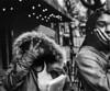 Peace Sign (bluechromis1) Tags: street filmgrain film analog analogue blackandwhite selfdeveloped canon50mmf12laspherical portlandoregon teens bokehwhores canonf1 pctea gestures rolleiir400 vintageprime