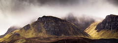 Cleat - in explore (Dave Fieldhouse Photography) Tags: isleofskye skye scotland highlands march2017 landscape panorama stitchedpanorama mountain mountains moody clouds fujixt2 fujifilm weather wildweather