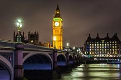 Westminster bridge - London (Bouhsina Photography) Tags: big ben westminster londres angleterre bouhsina bouhsinaphotography canon 5diii ef2470 long exposition lumière pont reflection cité 2017