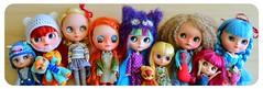 my own custom girls :)