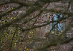 NorthWall (Tony Tooth) Tags: nikon d7100 nikkor 55300mm window obscured enigmatic intrigue failinglight reflection denford staffs staffordshire