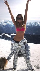 odri - silver1 (skisuitguy) Tags: skisuit snowsuit ski snow suit skiing skiwear skifashion skibunny onepieceskisuit onepiecesuit onesie