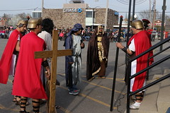 IMG_2112 (St John the Evangelist Catholic Church) Tags: lords passion christ jesus catholic church católico iglesia easter resurrection priest stationsofthecross viacrucis wayofthecross mary crucifixion crucifixión