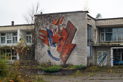 Monumental art (I g o r ь) Tags: abandoned decay decayed rust urban forgotten lostplaces urbanexploration ussr cccp sovietunion murals mosaic helios77m4 гелиос manualfocus