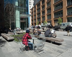 POPS040B: Public Plaza, 33 Beekman Street - Beekman Residence Hall, Financial District, Downtown Manhattan, New York City (jag9889) Tags: 2017 20170418 architecture bench building dormitory financialdistrict hall lowermanhattan manhattan ny nyc newyork newyorkcity outdoor popos pops paceuniversity people privatelyownedpublicspace publicplaza publicspace residential skyscraper tower usa unitedstates unitedstatesofamerica jag9889 us