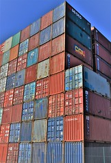 Container Repository (csaba.lehel) Tags: container repository hamburg harbour hh indsutrial landscape