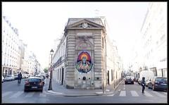 Noty Aroz (Gramgroum) Tags: street art graffiti paris noty aroz mythologeny el murcielago collage sticker
