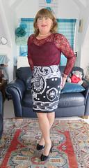 Lacey (Trixy Deans) Tags: crossdresser cd cute crossdressing crossdress classic classy cocktaildress corset tgirl tv transvestite transgendered transsexual hot highheels heelssexy