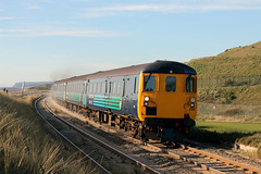 9704+37419 (Cumberland Patriot) Tags: arriva northern trains direct rail services ee english electric type three class 37 374 d6991 6991 37291 37419 mt pinatubo carl haviland 1954 2012 drs diesel dieselelectric loco locos locomotive seascale foot crossing copeland borough 2c34 passenger paytrain train cumbrian coast railway line cumbria cumberland mark two driving brake second open dbso 9704
