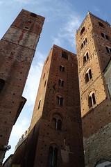 le torri di Albenga (fotomie2009) Tags: tower torri torre towers albenga liguria italy italia medioevo middleage middle ages ponente ligure riviera