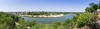 Rio Grande River (jciv) Tags: file:name=dsc01685pano panorama wide river water trees nature border mexico riogranderiver texas roma romatx bridge internationalbridge unitedstates